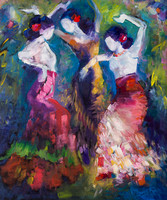 """Three Dancers"""